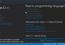 Turbo C++ Download