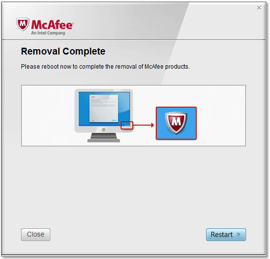 McAfee Software Removal